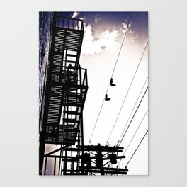 City Life Canvas Print