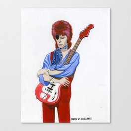 Starman Canvas Print