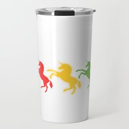 """A Perfect Gift For Anyone Who Loves Waiting Or Being On Standby """"Unicorn Mode On Standby"""" T-shirt Travel Mug"""