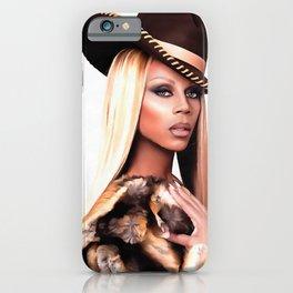 Cowboy Rupaul iPhone Case