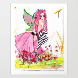 Autumn Fey Art Print