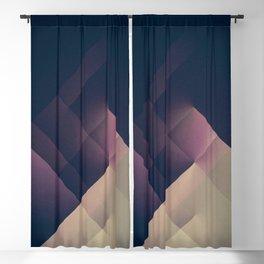 Modern Geometry No 55 Blackout Curtain