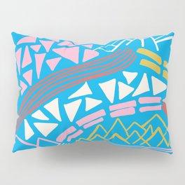 cascade, abstract terrain Pillow Sham