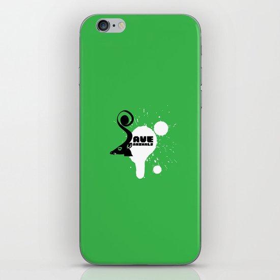 SAVE ANIMALS iPhone & iPod Skin