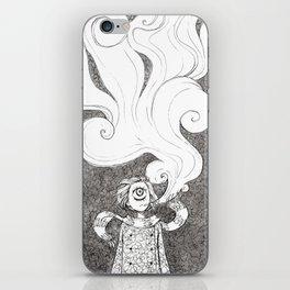 Winter Smoke iPhone Skin
