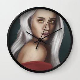 Manon Blackbeak Wall Clock