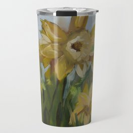 Clouds of Daffodils Travel Mug