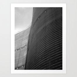 Waves of Copan Art Print