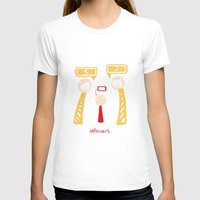introvert T-shirts featuring Introvert by LizzyARTING