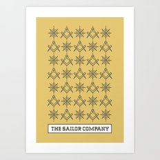 The sailor company V2.0 Art Print