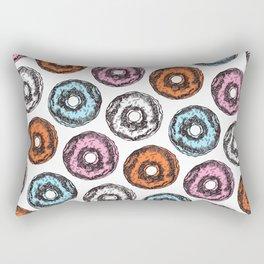 Donut Sunday Rectangular Pillow