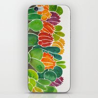 succulents iPhone & iPod Skins featuring Succulents by Cat Coquillette
