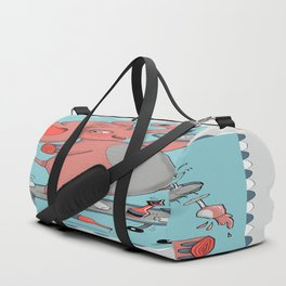 I'm so drunk, I'm seeing pink elephants! Duffle Bag