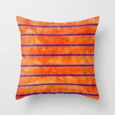 Summer in Orange Throw Pillow