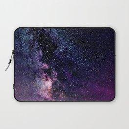 The Milky Way Midnight Blue & Purple Laptop Sleeve