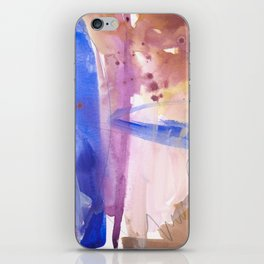 Watercolor Worlds iPhone Skin
