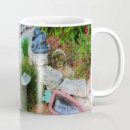 Nap in the Garden, California Style Coffee Mug