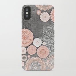 FESTIVAL FLOW BLUSH SUNSHINE iPhone Case