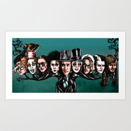Johnny Tree Art Print