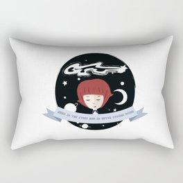 Head in the stars Rectangular Pillow