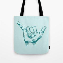 Shaka Print Tote Bag