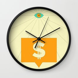 New Money Wall Clock
