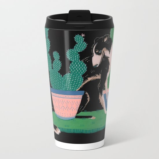 Botanical Metal Travel Mug