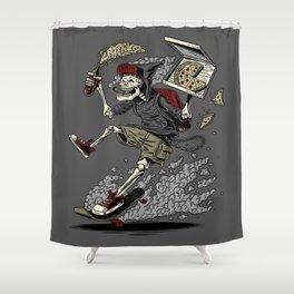 PARTY UNTIL DEATH Shower Curtain