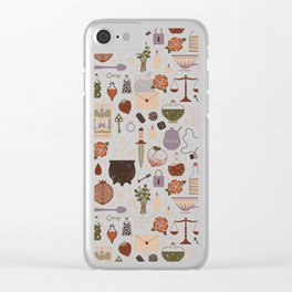 Love Potion Clear iPhone Case