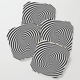 T Shirt Texture Zebra Stripes Printed Tops Tees Graphics Pattern Coaster