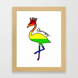 Flamingay Bright Framed Art Print