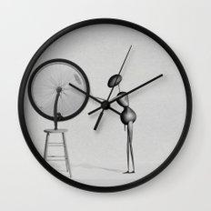 AntWoman & Duchamp's wheal Wall Clock
