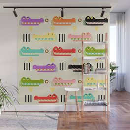 Contemporary Glyphs Wall Mural