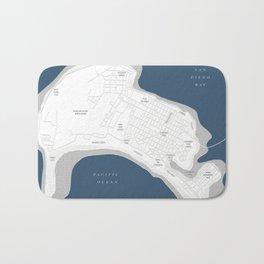Coronado Map Bath Mat