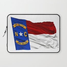 North Carolina Fancy Flag Laptop Sleeve