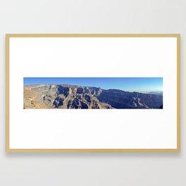 Jebel Shams - Oman Gerahmter Kunstdruck