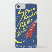 ale giorgini iPhone & iPod Cases featuring Space Rocket Pale Ale by Moto