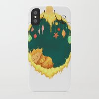 sandman iPhone & iPod Cases featuring Sandman Circlet by Z Doodle