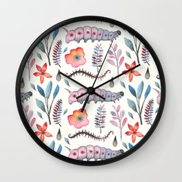 The Spring is Here Wall Clock