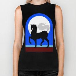 Moon horse Biker Tank