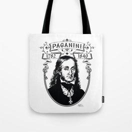 Paganini Tote Bag