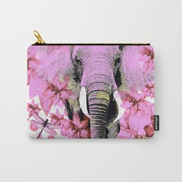 ELEPHANT PINK Carry-All Pouch