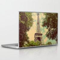 postcard Laptop & iPad Skins featuring Postcard by Emma.B