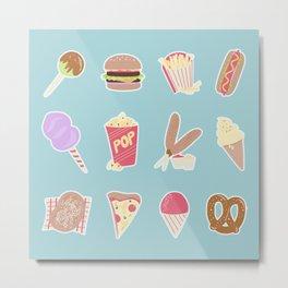 Fair Food Metal Print