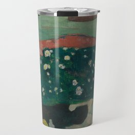 Haystacks in Brittany Travel Mug