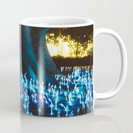 Fantasy forest with magic mushrooms Coffee Mug