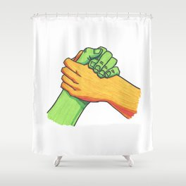 Hey Brother Shower Curtain