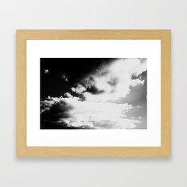 Whiteout: Bright Skies Framed Art Print