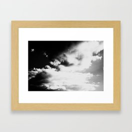 Whiteout: Bright Skies Framed Art Print
