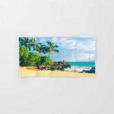 Paako Beach Makena Maui Hawaii Hand & Bath Towel